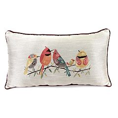Jordan Manufacturing Bird Throw Pillow