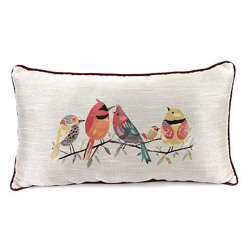 Jordan Manufacturing Bird Throw Pillow