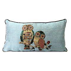 Jordan Manufacturing Owl Throw Pillow