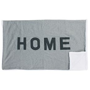 Home Applique Decorative Throw