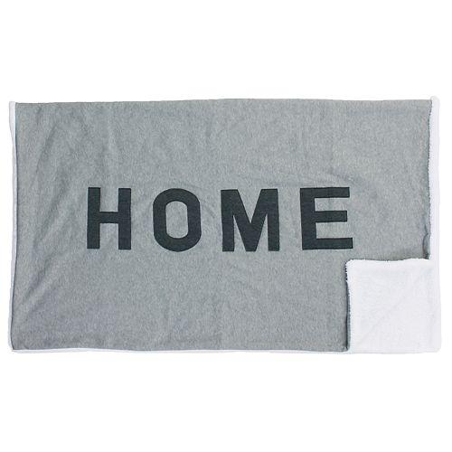 Home Applique Decorative Throw