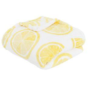 Lenny Lemon Loft Fleece Throw