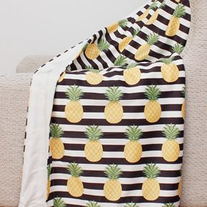 Petra Pineapple Micro Mink Throw