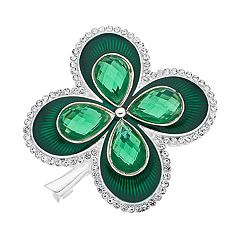 Napier Four-Leaf Clover Pin
