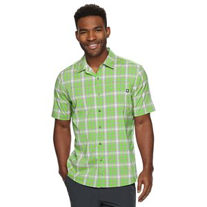 Men's Hi-Tec Plaid Performance Button-Down Shirt