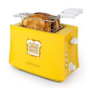 Nostalgia Electrics TCS2 Grilled Cheese Sandwich Toaster