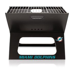 Miami Dolphins Portable X-Grill