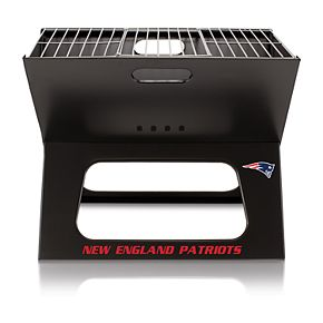 New England Patriots Portable X-Grill