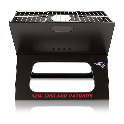 New EnglandPatriots Portable X-Grill