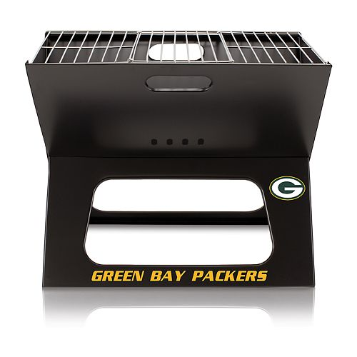 Green Bay Packers Portable X-Grill