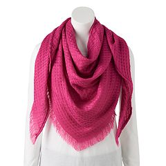 Women's Candie's® Textured Triangle Scarf