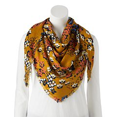 Women's Candie's® Cherry Blossom Triangle Scarf