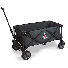 Picnic Time Arizona Wildcats Portable Utility Wagon