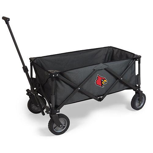 Picnic Time Louisville Cardinals Portable Utility Wagon