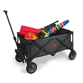 Picnic Time Louisville Cardinals Portable Utility Wagon