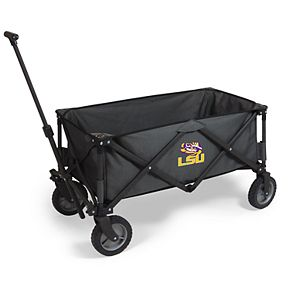 Picnic Time LSU Tigers Portable Utility Wagon