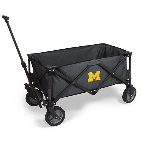 Picnic Time Michigan Wolverines Portable Utility Wagon