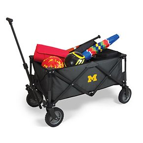 Picnic Time Michigan Wolverines Portable Utility Wagon