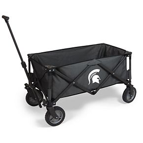 Picnic Time Michigan State Spartans Portable Utility Wagon