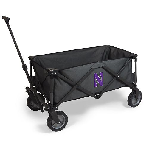 Picnic Time Northwestern Wildcats Portable Utility Wagon