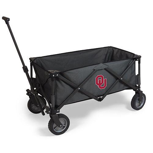 Picnic Time Oklahoma Sooners Portable Utility Wagon