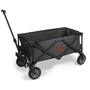 Picnic Time Oklahoma State Cowboys Portable Utility Wagon