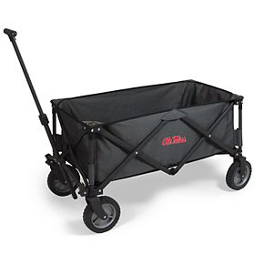 Picnic Time Ole Miss Rebels Portable Utility Wagon