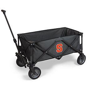 Picnic Time Syracuse Orange Portable Utility Wagon