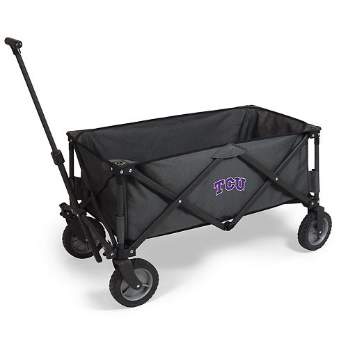 Picnic Time TCU Horned Frogs Portable Utility Wagon