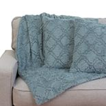 Mia Lattice Pillow & Throw Set