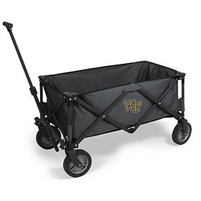 Picnic Time Wake Forest Demon Deacons Portable Utility Wagon