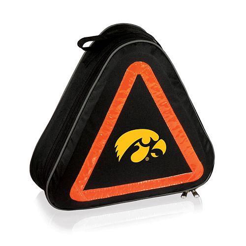 Picnic Time Iowa Hawkeyes Roadside Emergency Kit