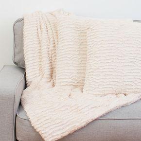 Rachel Ruffle Pillow & Throw Set