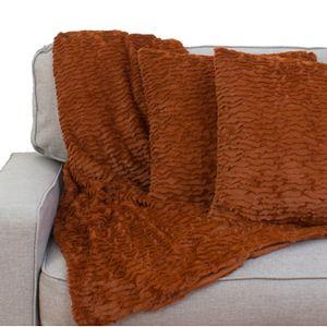 Rachel Ruffle Pillows & Throw Set