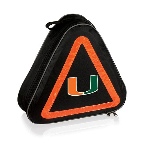 Picnic Time Miami Hurricanes Roadside Emergency Kit