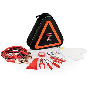 Texas Tech Red Raiders Roadside Emergency Car Kit