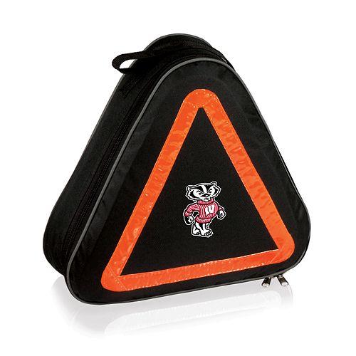 Wisconsin Badgers Roadside Emergency Car Kit