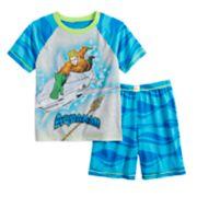 Boys 4-12 Aquaman 2-piece Pajama Set