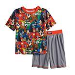Boys 4-12 Justice League 2-piece Pajama Set