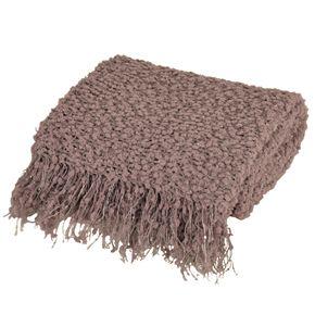 Danette Decorative Knit Sequin Throw