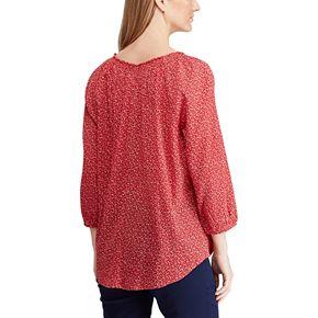 Women's Chaps® Raglan Sleeve Blouse