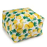 Sonoma Goods For Life® Indoor Outdoor Square Pouf
