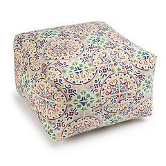 SONOMA Goods for Life™ Indoor Outdoor Square Pouf