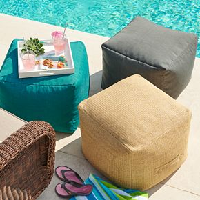 SONOMA Goods for Life? Indoor Outdoor Hermosa Pouf