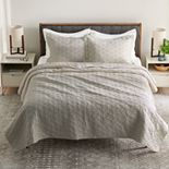 Croft & Barrow Anna Diamond Quilt or Sham