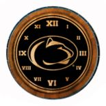 Penn State Nittany Lions Round Wall Clock