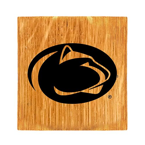 Penn State Nittany Lions Wine Barrel Coaster Set