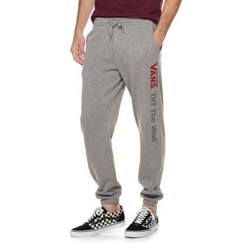 Men's Vans Fleece Pants with Leg Graphic