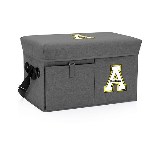 Picnic Time Appalachian State Mountaineers Portable Ottoman Cooler