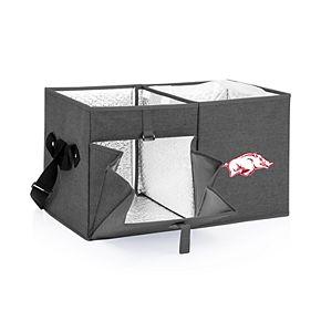 Picnic Time Arkansas Razorbacks Portable Ottoman Cooler